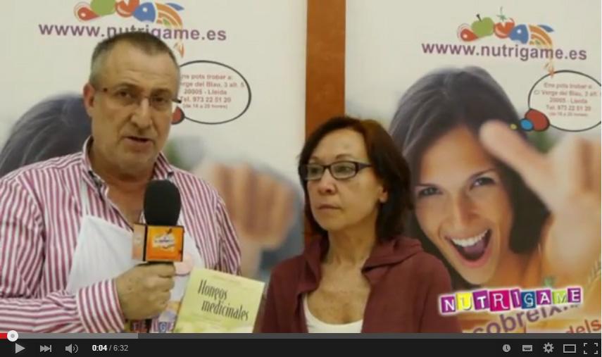 Nutrigame entrevista a Josefina Llargues autora del Libro de Hongos