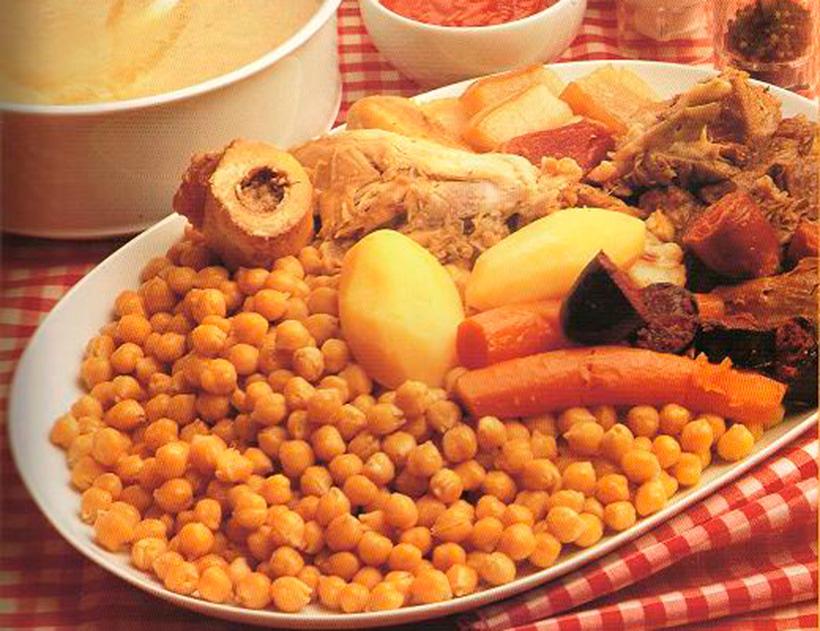 El cocido madrileño