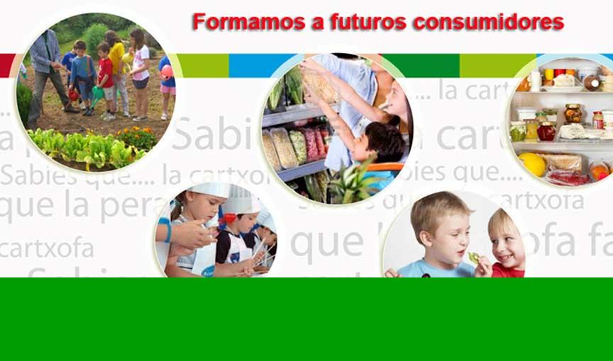 Formamos a futuros consumidores