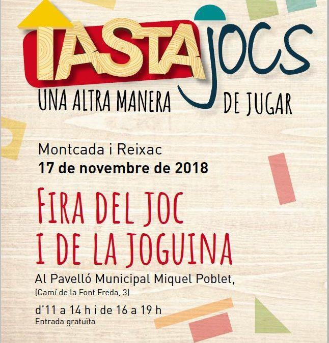 Tastajocs en Montcada i Reixac: La Feria del Juego y los Juguetes